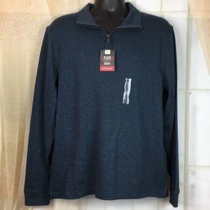 Van Heusen Long Sleeved Pullover Shirt